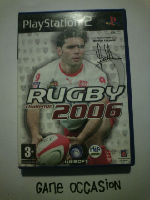 RUGBY CHALLENGE 2006 PS2 PLAYSTATION 2 SONY COMPLET PAL
