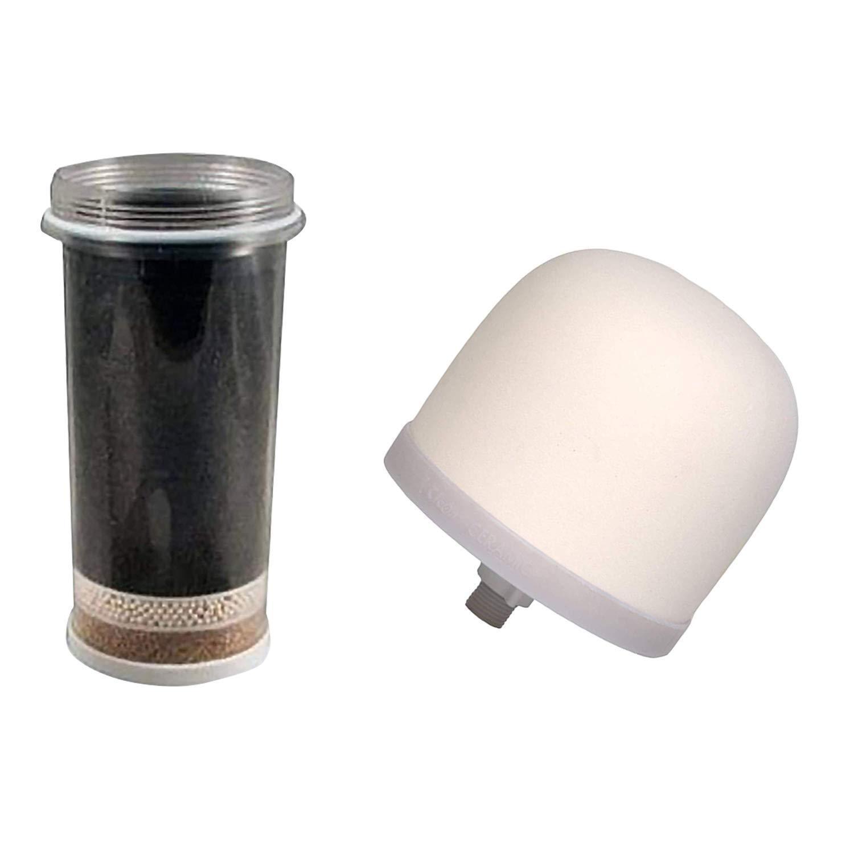 Nikken Aqua Pour Filter Cartridge 1361 & Ceramic Pre-Filter 1364 Gravity Water