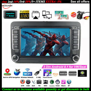 7-039-039-2-Din-Android-GPS-Autoradio-pour-VW-Seat-Camera-BT-iOS-Lien-Miroir-Wifi-EQ-FM