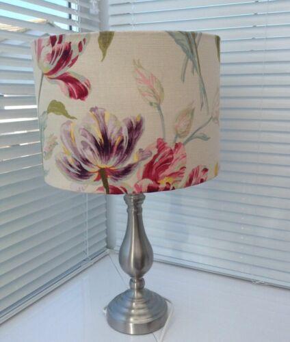 Handmade Laura Ashley Gosford Cranberry Fabric Lampshade