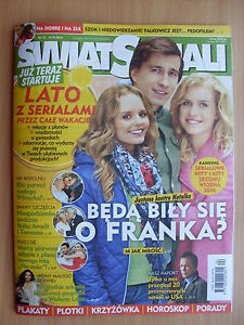 Details About Swiat Seriali 122016 Stana Katicnathan Filliongabrielle Solisellen Pompeo