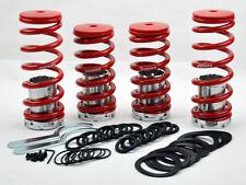 Honda Accord Adj. Red Suspension Coilovers Lowering Springs Kit Megan Racing