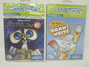 LEAPSTER  MR PENCILS LEARN TO DRAW /& WRITE LEARNING GAME