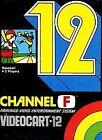 Videocart-12: Baseball (Fairchild Channel F, 1977)