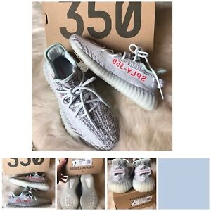2a92a79f6ee Details about BNIB ADIDAS KANYE YEEZY BOOST 350 V2 BLUE TINT SZ. 8 MEN  9.5  WOMENS