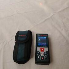 Bosch Glm42 Blaze Professional Laser Measure 135ft Range With Color Display