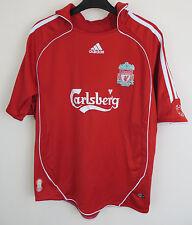 Kids Liverpool Adidas Football Shirt 06-08 Home Soccer Jersey M Boys 9-10 11-12