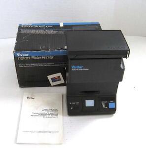 vintage vivitar instant slide printer convert 35mm slides to