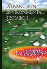 Advances in Environmental Research: Volume 39 by Nova Science Publishers Inc (Hardback, 2015)