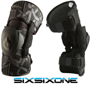Mx Knee Braces >> Details About 661 Sixsixone Rage Motocross Mx Knee Braces Supports Pads Protectors Enduro Bike