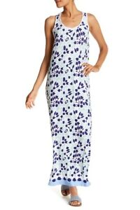 Tommy-Bahama-Border-Tiles-Maxi-Print-Dress-size-XXS-NWT-168