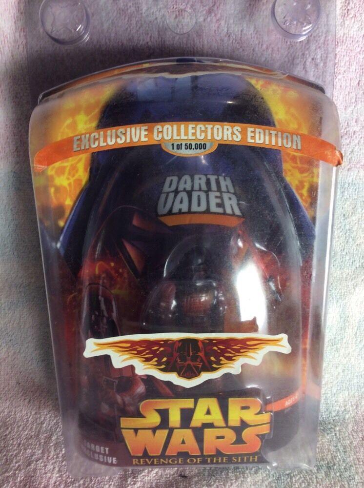 Star - wars - rache der sith - eine exklusive action - figur darth vader