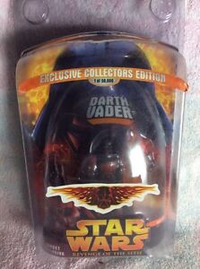 Star Wars Revenge Of The Sith Target Exclusive Darth Vader Action Figure Ebay