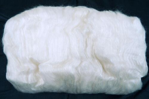 Cashmere y Perla Seda Fibra de lana cardada Arte Batt 25//50g Seda Mezcla Fieltro Spin