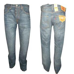 Blu Levi's Cotone Dritto Classico 501 Pantaloni Jeans Levis Regular 100 W36l34 IqgCYCw