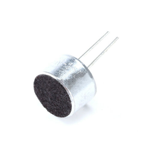 9x7mm Elektret KondensatormikrofonCapacitor Pickup 50dB 2Pin Mike Mini Mic