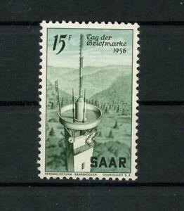 Germany-Saar-Saarland-vintage-yearset-1956-Mi-369-Mint-MNH