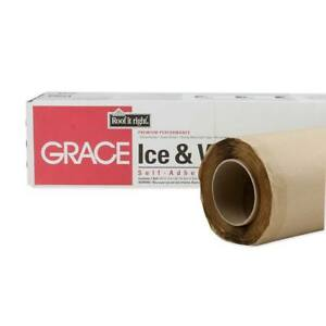 """Grace Ice & Water Shield Roofing Underlayment 36"""" x 66.6' Roll - 200 Sq. Ft."""