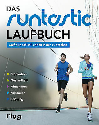 RUNTASTIC Laufbuch zur APP Motivation Lauftechnik Lauftraining Joggen Buch NEU