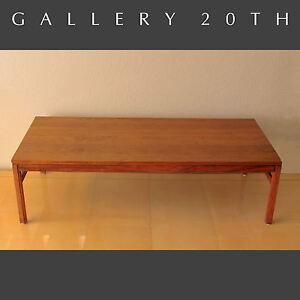 Mid Century Danish Modern Arbatove Coffee Table 1950