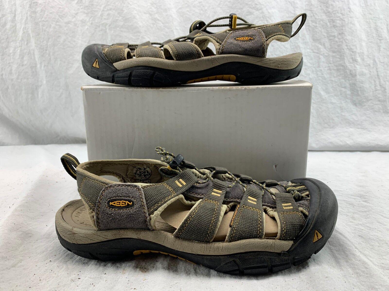 KEEN 1008399 Uomo Newport H2 Marronee Washable Sandal Sandal Sandal scarpe Dimensione 10 8ef2d0