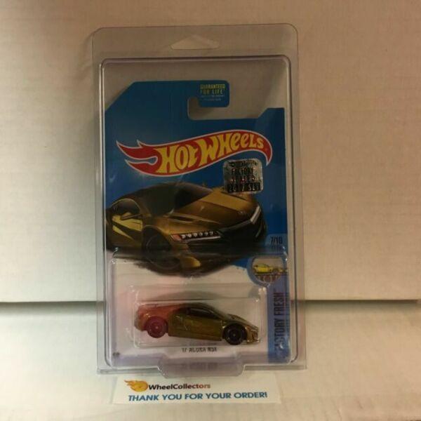 Hot Wheels 2017 Super Treasure Hunt '17 Acura Nsx. Gold