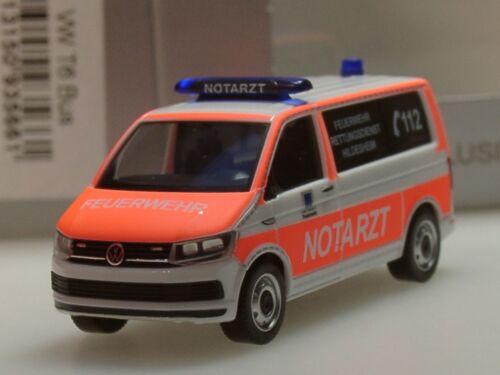 Herpa VW t6 emergencias bomberos Hildesheim 935661-1:87