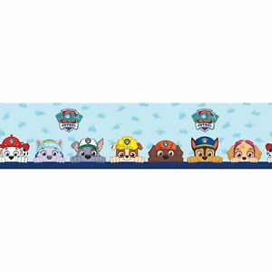Paw-patrol-Papier-Peint-Adhesif-Bordure-5M-Long-Enfants-Chambre-Mural-Decor-Neuf