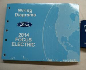2014 FORD FOCUS ELECTRIC WIRING DIAGRAMS | eBay