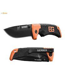 Gerber Bear Grylls SCOUT MESSER BLACK FE 7Cr17MoV Stahl TacHide Griffmaterial