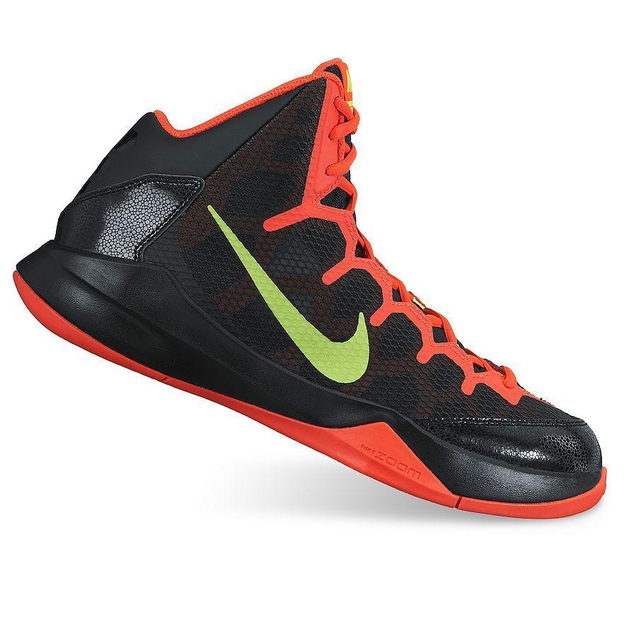 Nike Basketball Noir Baskets Without a Doubt Noir Basketball /Volt/Crimson Hommes 39d9d1