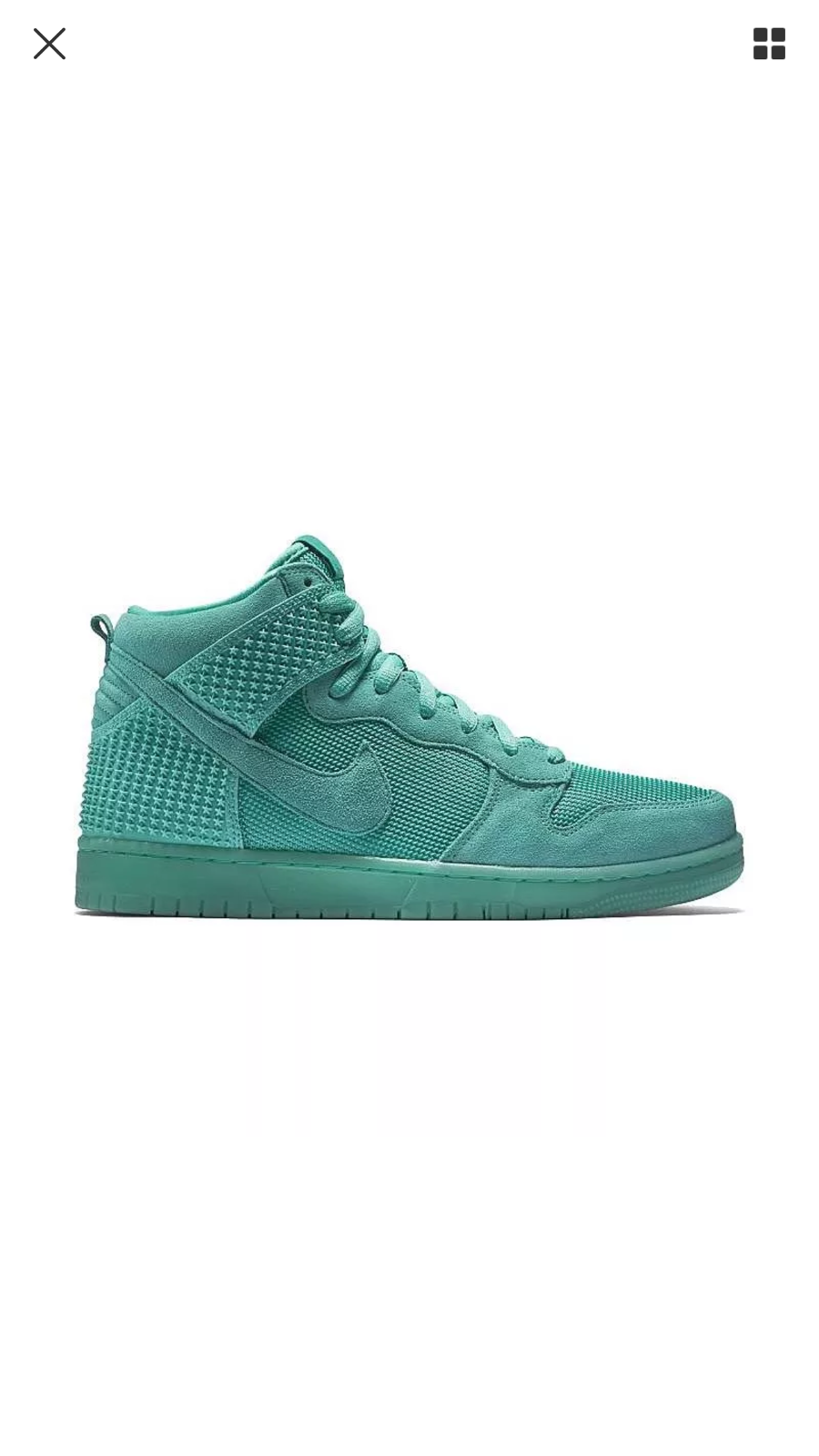 81a34e65cd37 Brand new nike dunk high comfort premium suede mens shoes shoes shoes  a2f0fc ...