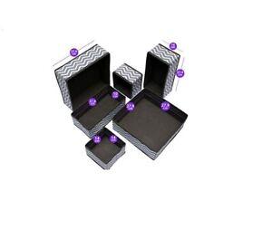Set Di 6 Cassetto Portaoggetti Pieghevole Divisorio Scatole Di Tessuto Per Biancheria Intima Ebay