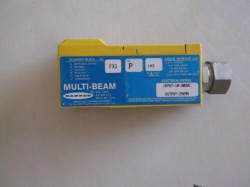 Banner Multi-beam scanner block FX1 P LM3