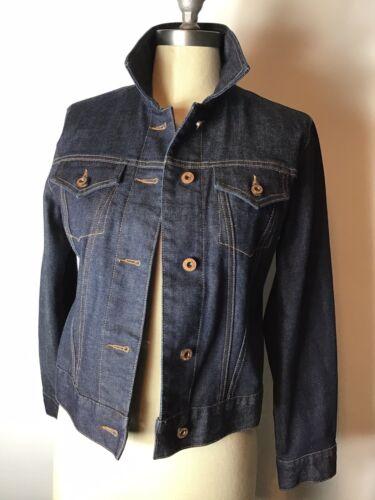 Gap womens size XS Dark Blue denim jeans Jacket