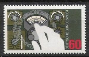 Bund Nº 1015 ** Administrative 1979, Cachet-skonferenz 1979, Postfrischfr-fr Afficher Le Titre D'origine