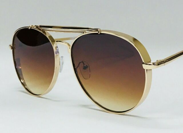 5e8e45a5ad68 Burberry Sunglasses B 3081 1017/73 63-16 Gold Aviator Frame W/ Brown Lenses  for sale online | eBay
