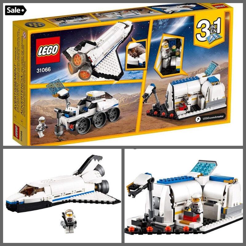 LEGO Creator spazio  Shuttle classeic Creativity scatola costruzione Kit For Kid Xmas Gift  fino al 60% di sconto