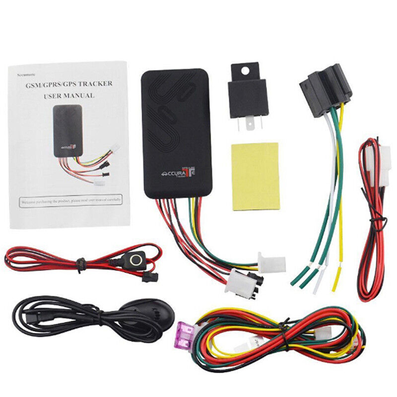 GT06 GPS GSM GPRS Car Tracker Locator Anti-theft SMS Dial Tracking  Device+Cab QP