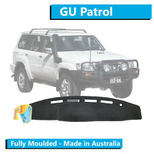 TO FIT: Nissan Patrol GU (2004-Current) Y61 - Dash Mat - Charcoal - Moulded