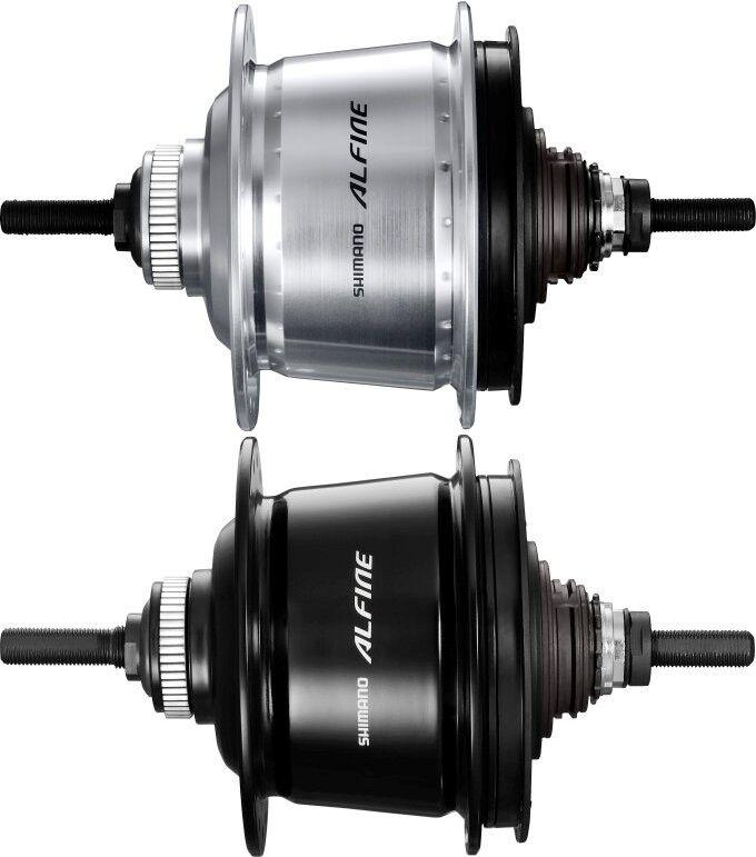Nuevo Cubo de rueda Shimano Alfine 8 SG-S700 Cerradura de centro de 32 36 agujeros sin