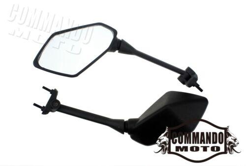 2x Motorcycle Rearview Mirrors For 2009-2014 Kawasaki Ninja Z1000 650R//ER-6F Hot