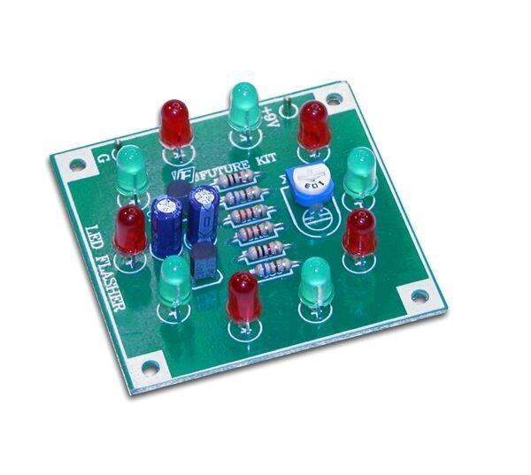 10 Del Light Ring Clignotant Kit Electronics Project Kit De Montage