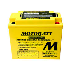 Batteria potenziata MBTX20U Motobatt = Yuasa: YTX20BS; YB16A; GT16L-BS; YB16LB;