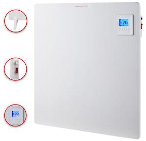 Infrarotheizung-Wandheizung-Heizung-Heizpaneel-Timer-LCD-Display-425-Watt-DMS