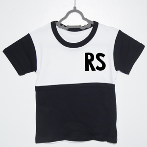 5cbcf7d8 Image is loading Personalised-Initial-Contrast-Top-Boys-Fashion-T-shirts-