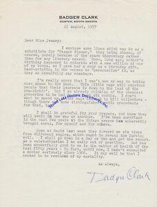 Cowboy-poet-Badger-Clark-signed-letter-1957-month-before-his-death-South-Dakota