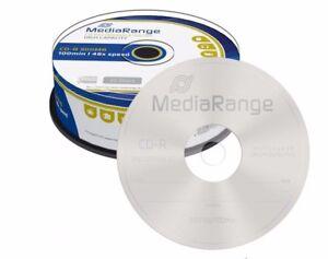 25-MediaRange-Branded-Blank-CD-R-discs-48x-100-min-900MB-100-minutes-CD-R-MR222