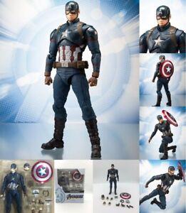 New 6/'/' Avengers Endgame Captain Marvel Action Figure S.H.Figuarts Toy Collect