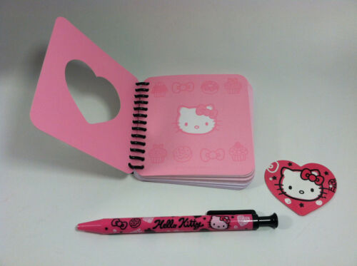 Hello Kitty Stationery Set For Age 5 and Up Squiggle Kitty Design by Sanrio
